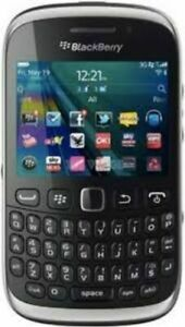 BLACK BLACKBERRY 9320 SMART MOBILE PHONE-BLACK COLOUR