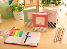 Planner Sticker Post It Bookmark Notepad Marker Memo Flags Sticky Notes With Pen