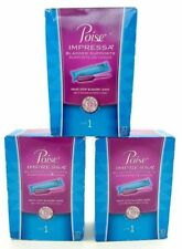 Poise Impressa Incontinence Bladder Supports Size 1 30ct NIB