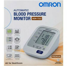 Omron HEM 7322 Upper Arm Premium Blood Pressure Monitor + Australian Adapter