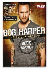 Bob Harper - Inside Out Method : Bob's Workout (DVD, 2011) Brand New CHEAP