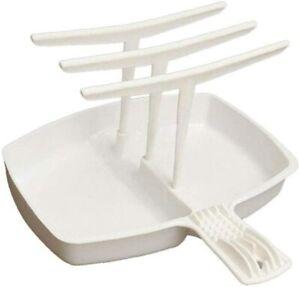 Microwave Bacon Rack Hanger Cooker Tray For Cooking Bar Crisp Meal Breakfast