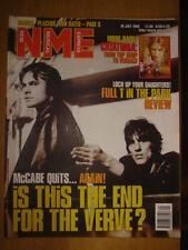 NME 1998 JUL 18 VERVE CATATONIA MANICS PLACEBO GARBAGE