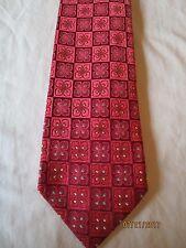 Ermenegildo Zenga Red Silk Neck Tie