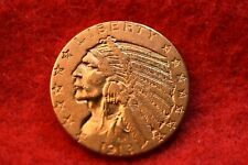 1913 Us $5 Gold Indian Half Eagle Nice Gold Coin! #231