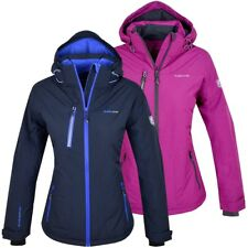 KJELVIK Norway Damen Skijacke Winter Jacke Parka Geographical blau pink S M L XL