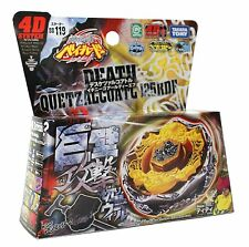 Takara Tomy Japanese Beyblade BB119 Death Quetzalcoatl 125RDF+LAUNCHER