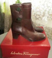 Botas de cuero de mujer Salvatore Ferragamo | eBay