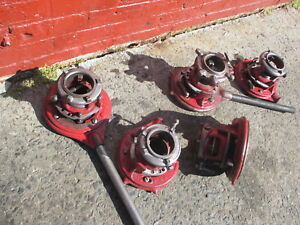 "RIDGID 65R  THREADER 1-2"" ADJUSTABLE GOOD COND"