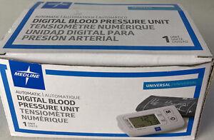 MEDLINE MDS1001U  Automatic Digital Blood Pressure Unit Universal NEW Arm Cuff
