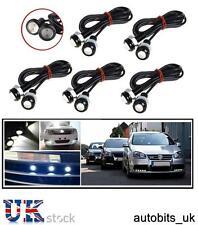 10 X 12V CAR BIKE  4X4 WHITE LED 18MM EAGLE EYE DAYTIME RUNNING DRL LIGHTS LAMP