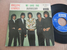 "45T DE THE ROLLING STONES  "" WE LOVE YOU """