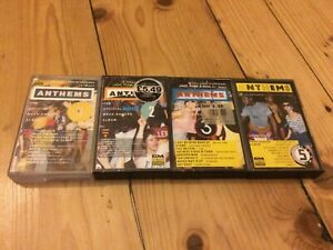 Street Sounds Anthems 1, 2, 3 and 5. Cassettes. ZCMUS5, 10, 11, 13