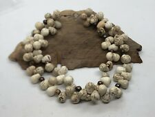 """Vintage Navajo White Buffalo Pearl NECKLACE  Sterling 925 16"""""""