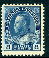 Canada 1925 Admiral 8¢ Scott # 115 MNH  D437