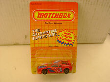 1987 MATCHBOX SUPERFAST #52 RED #1 M-POWER GOODYEAR RACE BMW M1 NEW MOC