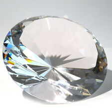 15 Cm Glasdiamanten mit 96 Facetten als Deko-diamant Glas-diamant In klar