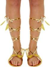 Dio Romano Dea Gold Sandali nuovo Costume greco greca egiziana adulto