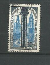 France 1954 études romanes à Tournus Y&TN°986  timbre oblitéré /T6767
