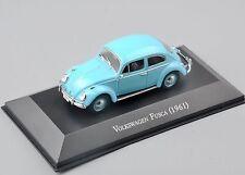 1:43 Scale Volkswagen Fusca 1961 Diecast Car Model Atlas Kids Gift Toy