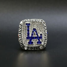 Clayton Kershaw - 2017 Los Angeles Dodgers NL  Championship Ring With Wooden Box