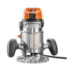 RIDGID Fixed Base Router 1/2 in. 11 Amp 2 HP Corded Spindle Lock
