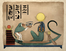 Ancient Egyptian Art Print Thoth God Of Knowledge