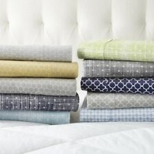 Home Collection Premium 4 Piece Printed Bed Sheet Set - Extra Deep Pocket