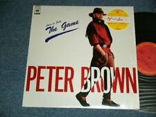 "PETER BROWN Japan 1984 12AP 2974 NM 12""+Obi LOVE IS JUST THE GAME"