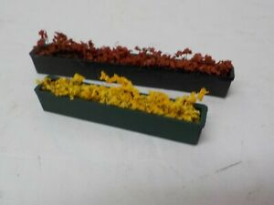 POLA Multi-colored Flower boxes for windows or patio USED G Scale