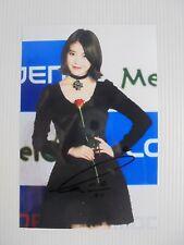 IU Lee Ji Eun KPOP Korean Actress 4x6 Photo Autograph hand signed USA Seller 47