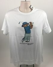 Polo Ralph Lauren Golf Teddy Bear T Shirt Limited Edition Size Medium NEW