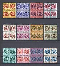 HONG KONG 1982 SG 415/30 MNH Blocks of 4 Cat £240