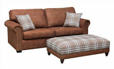 Living Room Upholstery Furniture Suites with Footstool