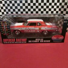 """DCP/Supercar,1965 Plymouth,'HEMI"""" Belvedere, """"Butch Leal"""",1:18 scale diecas cart"""