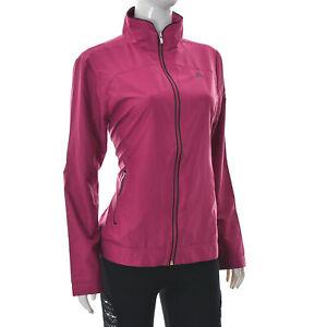 Adidas Women's Sportswear Jacket Full Zip Athletic Training Gear US-M UK-14S