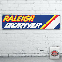 RALEIGH BURNER BMX Banner  – 1200x305mm  workshop, garage, man cave retro