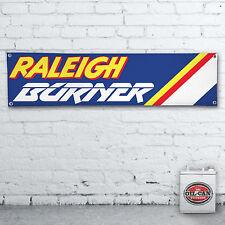 Raleigh Brenner BMX Banner – Heavy Duty für Werkstatt, Garage, Mann Höhle Retro