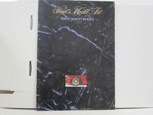 Paul's Model Art Katalog, Finest Quality Models, deutsch, 26 Seiten