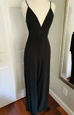Express Black Women's Jumpsuit With Side Slits Size 4