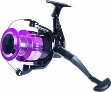 Big Fixed Spool Sea Fishing Reel Beach Caster Large 70 Size Boat Pier Pink/Black