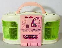 Vintage Mattel 1999 Barbie Entertainment Fold Out House WORKING Radio Boom Box