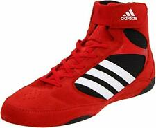 New Adidas Pretereo 2 Wrestling Shoes Red/White/Black | Size 11.5
