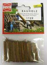 Busch 1129 Real Wood Building Timbers 00/ho Model Railway Accessories