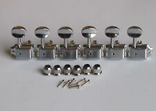 Chrome Vintage Guitar Tuning Keys Tuners Machine Heads fits Strat/Tele