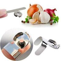 2 Stück Kreative Knoblauch Ingwer Schäler Küchenhelfer Diens Werkzeug-prakt A4Y6