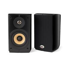 PSB Imagine Mini Bookshelf Speaker Pair Gloss Black {BRAND NEW}