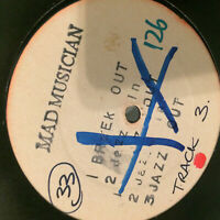 """Mad Musician / X-Plosion – Braek Out EP  RARE 1991 UK 12"""" Vinyl Promo  UNPLAYED"""