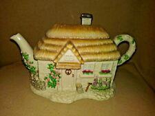 """Rare Lenox """"The Irish Blessing Teapot Cottage"""""""