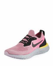 d833e1000 Nike Women's Epic React Flyknit Plum/Pink Running Shoes AQ0070-500 Size 6.5  US